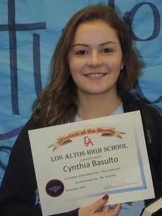 Student of the Month--Cynthia Basulto