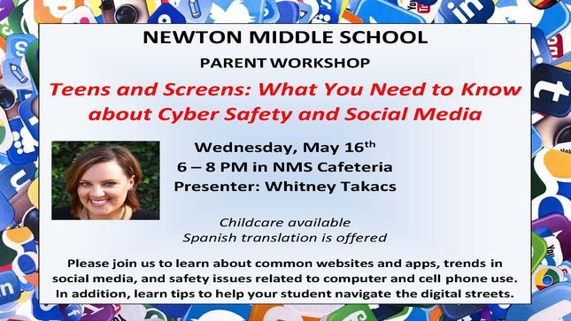 Newton Social Media Workshop
